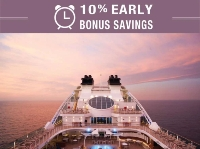 Seabourn 10% early bonus savings